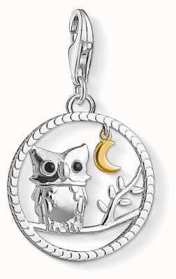 """Thomas Sabo """"NIGHT OWL"""" Charm Pendant 1392-427-11"""