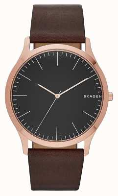 Skagen Mens Brown Leather Skagen SKW6330