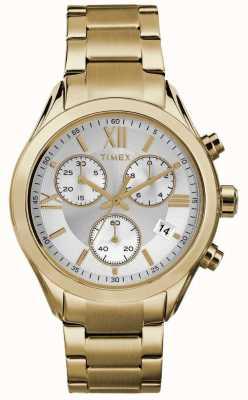 Timex Womans Miami Chronograph Gold Tone TW2P93700
