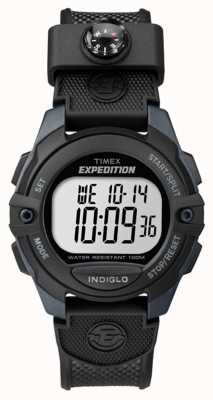 Timex Mens Expedition Chrono Alarm Timer Black TW4B07700