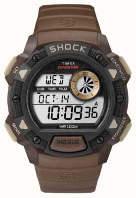 Timex Mens Expedition Base Shock Brown TW4B07500