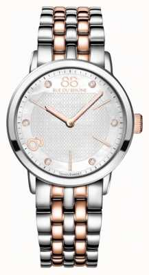 88 Rue du Rhone Double 8 Origin Ladies Two Tone Stainless Steel Rose Gold 87WA140005