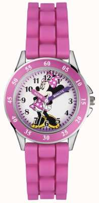 Disney Princess Childrens Minnie Mouse Pink Rubber Strap MN1157