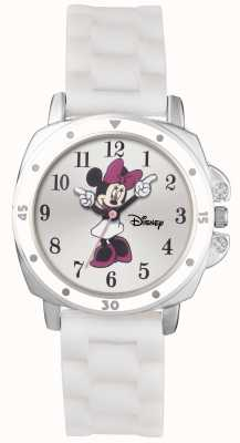 Disney Princess Minnie Mouse White Rubber Strap MN1064