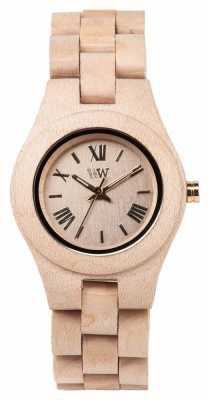 WeWood Womens Criss Beige Wooden Strap 70210200