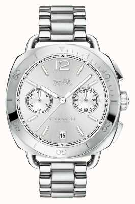 Coach Womens Tatum Stainless Steel Silver Dial 14502602