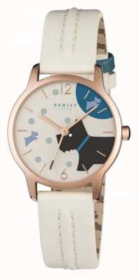 Radley Over The Moon Blonde Leather Strap RY2404