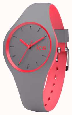 Ice-Watch Unisex Duo Grey Coral Watch DUO.DCO.S.16
