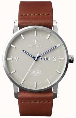 Triwa Unisex Mist Klinga Brown Leather KLST105-CL010212