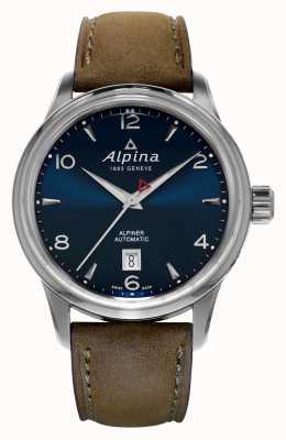 Alpina Mens Alpiner Automatic Blue AL-525N4E6