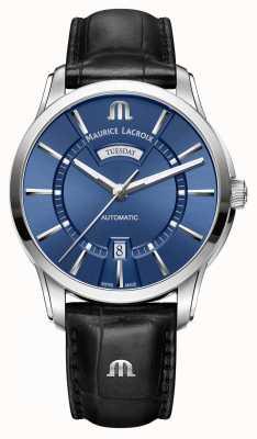 Maurice Lacroix Mens Pontos Automatic Blue PT6358-SS001-430-1