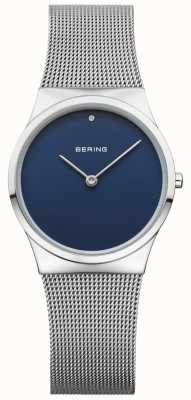 Bering Womans Classic Mesh Blue Dial 12130-007