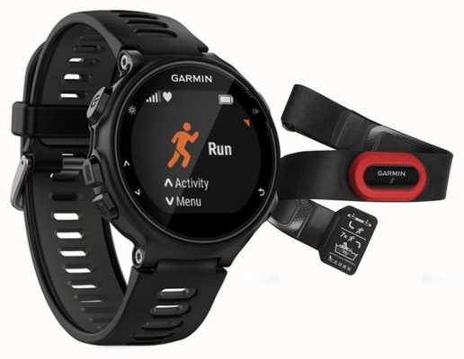 Garmin Mens Forerunner 735XT Run Bundle Black 010-01614-15