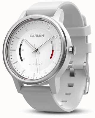 Garmin Mens Vivomove Sport Band White 010-01597-01