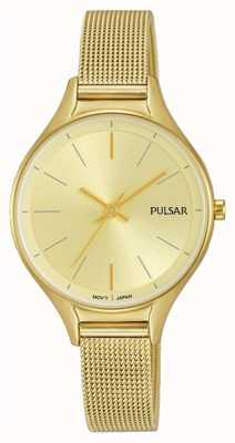 Pulsar Ladies Gold Plated Watch PH8278X1