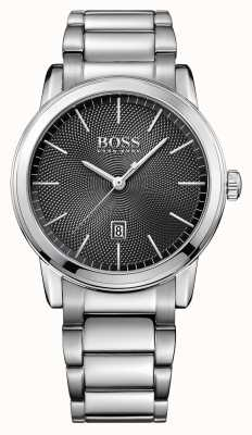 Hugo Boss Mens Classic Stainless Steel Black Dial 1513398