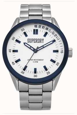 Superdry Mens Regent Corporal Silver SYG207WSM