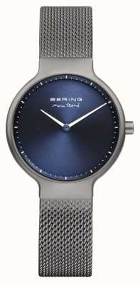 Bering Ladies Max René Interchangeable Mesh Strap Grey 15531-077