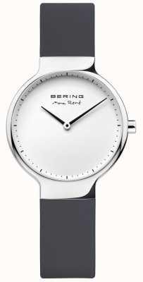Bering Ladies Max René Black Rubber Interchangeable Strap 15531-400