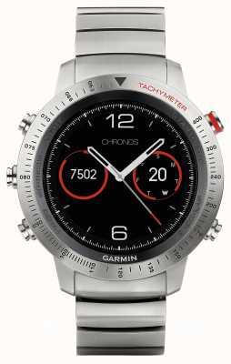 Garmin Fenix Chronos Titanium Hybrid (w/black sports strap) 010-01957-01