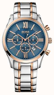 Hugo Boss Gents Ambassador Stainless Steel Watch 1513321
