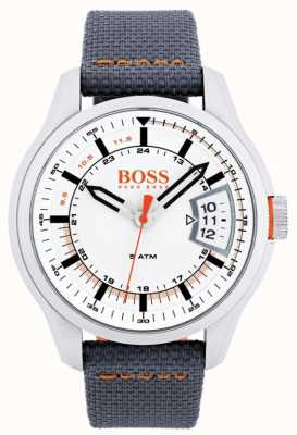 Hugo Boss Orange Mens Hong Kong Grey Strap 1550015