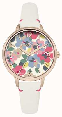 Cath Kidston Womans Floral Off White CKL031W