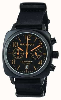 Briston Mens Clubmaster Classic Acetate Black Matte 13140.PBAM.B.4.NB