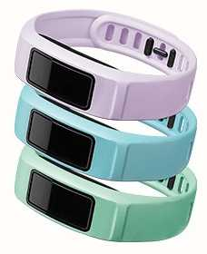Garmin Mint, Cloud, Lilac Vivofit 2 Bands Large 010-12336-03