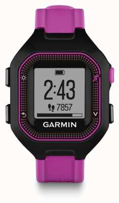 Garmin Unisex Forerunner 25 Purple And Black 010-01353-30