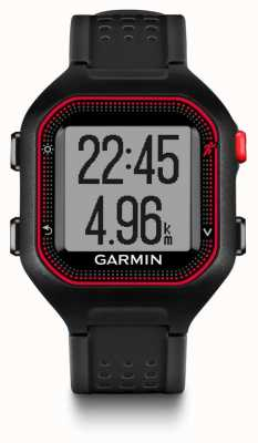Garmin Unisex Forerunner 24 Black Red 010-01353-10