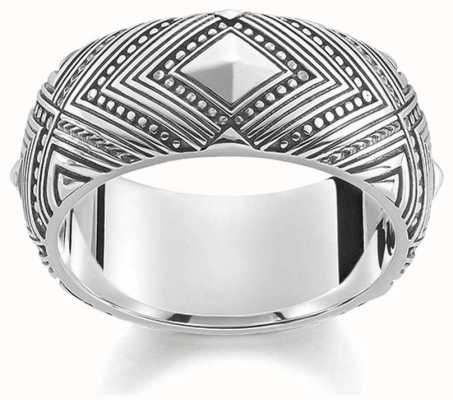 Thomas Sabo Silver Ring AFRICA TR2127-637-21-54