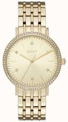 DKNY Womans Minetta Gold Tone Bracelet NY2607