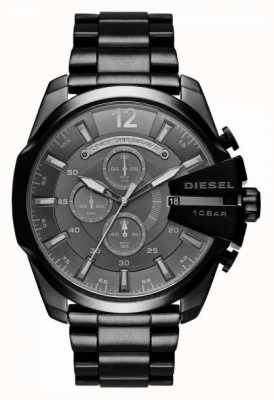 Diesel Mens Mega Chief Chronograph Black DZ4355