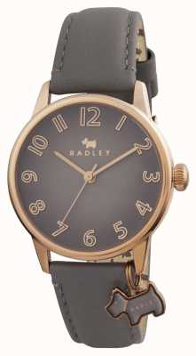Radley Womans Blair Grey Leather Strap RY2248