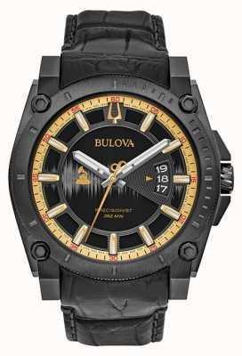 Bulova Special Edition Grammy Precisionist Black Leather 98B293