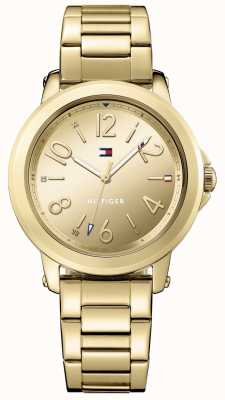 Tommy Hilfiger Womans Stainless Steel Gold Bracelet 1781751