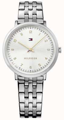 Tommy Hilfiger Womans Pippa Silver Steel 1781762
