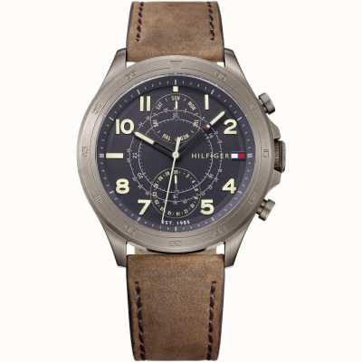 Tommy Hilfiger Mens Hudson With Day Ansd Date Display 1791343
