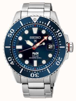 Seiko | Prospex | PADI | Special Edition | Solar Powered | SNE435P1