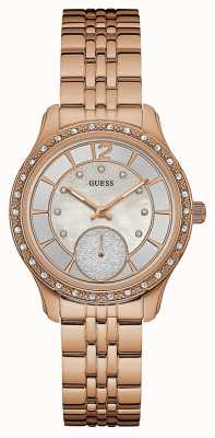 Guess Womans Whitney Rose Gold Plated W0931L3