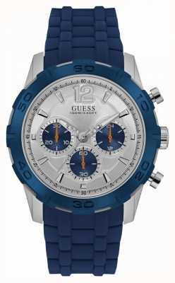 Guess Mens Caliber Sport Chrono Blue W0864G6