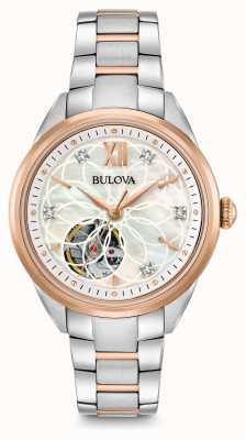 Bulova Women's Automatic Diamond Watch 98P170