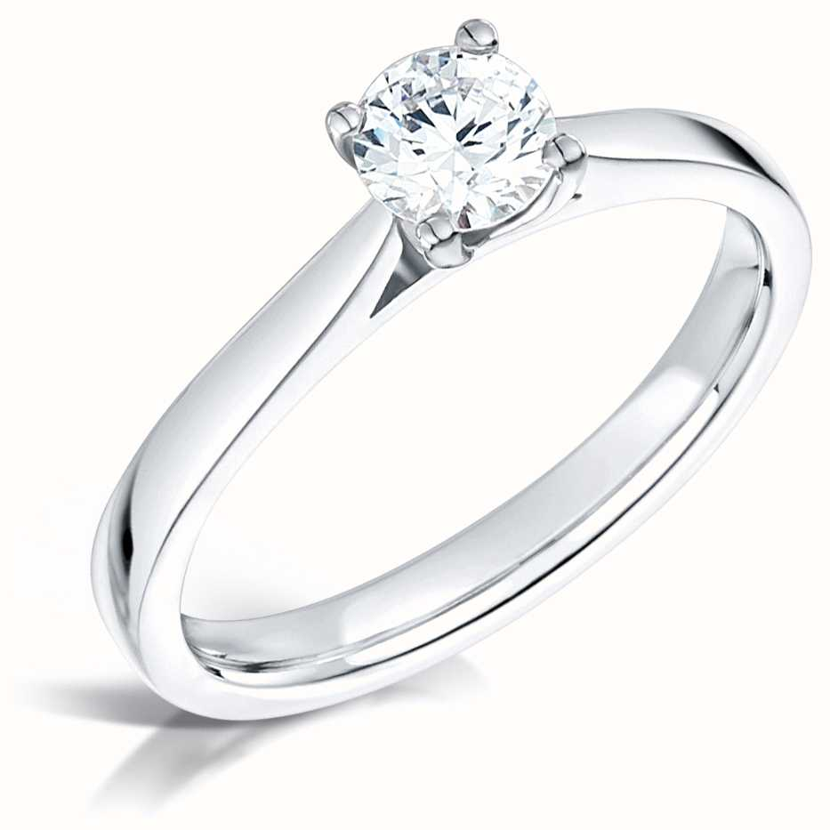 Certified Diamond Engagement Rings FCD28361