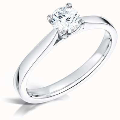 Certified Diamond 0.50ct D SI1 GIA Diamond Engagement Ring FCD28352