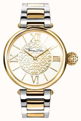 Thomas Sabo Women's KARMA | Two-Tone Stainless Steel/PVD Strap | WA0299-291-202-38