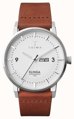 Triwa Mens Snow Klinga Brown Classic KLST109-CL010212