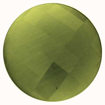"""MY iMenso FACETED CAT'S EYE """"OLIVE GREEN 33-1221"""