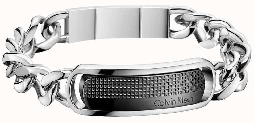 Calvin Klein Mens Confidence Stainless Steel Bracelet KJ4QBB200100