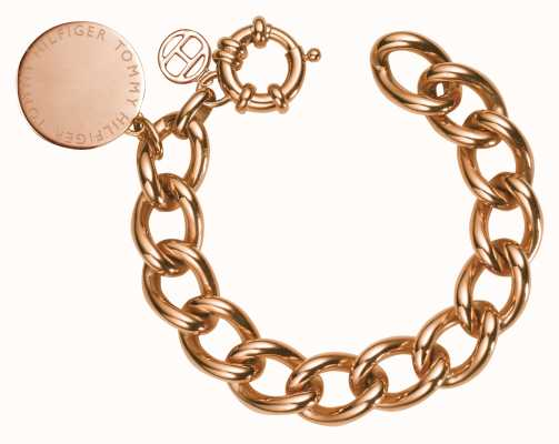 Tommy Hilfiger Womens Rose Gold Plated Bracelet 2700475